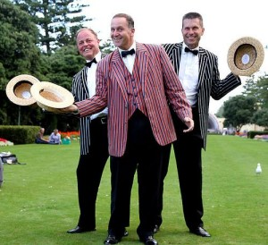 John Key, Chris Tremain and Craig Foss - image Scoop Media.