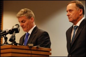 Scoop Media - Bill English and John Key
