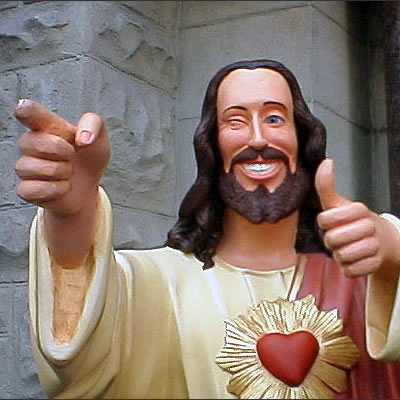 jesus-thumps-up-happy-savior