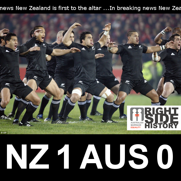 Nz Vs Australia On Marriage Equality The Daily Blog