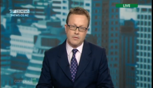 GCSB director Ian Fletcher on Campbell Live.