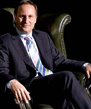 Prime Minister John Key sourced from DimPost.wordpress.com.