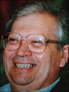 Rt Hon David Lange, 1996. Image by Jason Dorday.