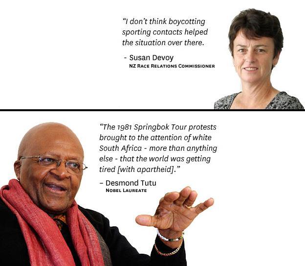 devoy vs Desmond Tutu
