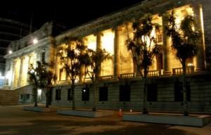 NZ-Parliament-at-night