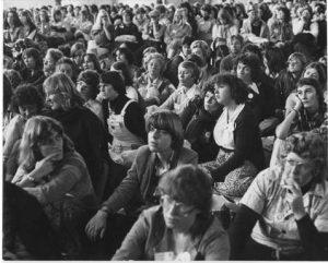 Participants at the last United Women's Convention – Photo by Marti Friedlander.