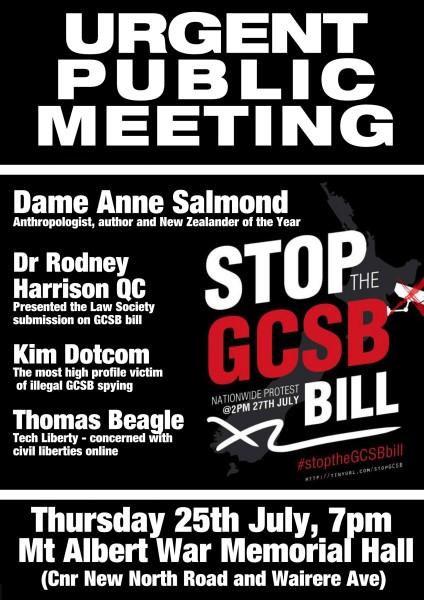 GCSB - mtg flyer - 25 July 2013