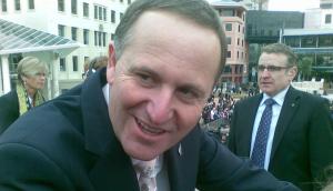 John Key with DPS-2