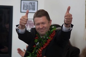 David Cunliffe launches his leadership campaign. Image courtesy of Greg Presland.