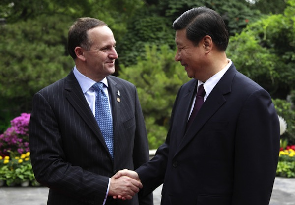 Xi Jinping and John Key-2