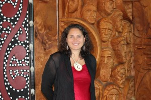 020312 Louisa at Tainui College for her MBA Lecture2