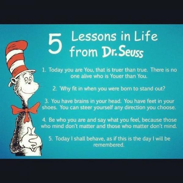 5 Life Lessons From Dr Seuss « The Daily Blog