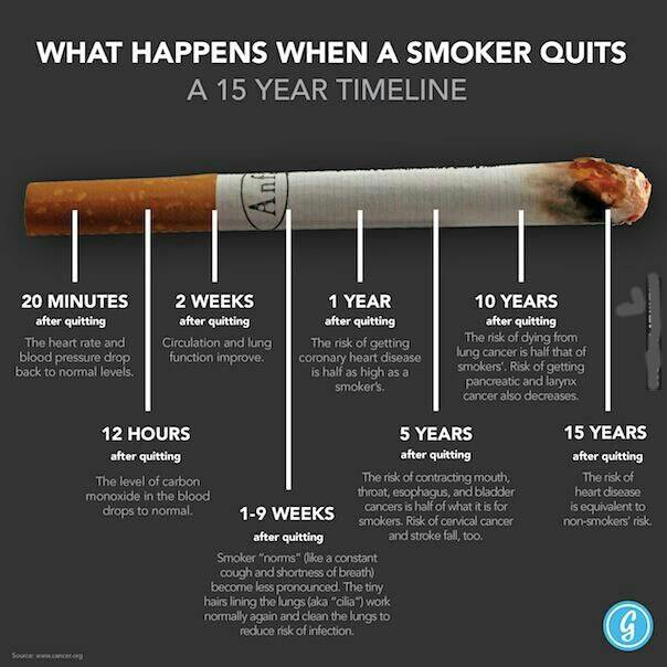 What Happens When You Quit Smoking « The Daily Blog