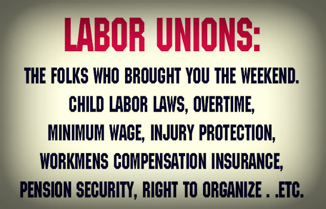 how and why did labor unions start essay Labor unions in the united states are organizations that represent workers in many industries recognized documents and essays (2002) brody, david in labor's.