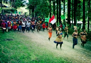 Papuan Highlands election rally