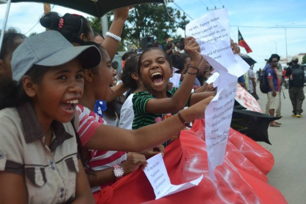 Timorese protest over Australian spying Global Voices