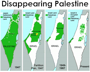 Disappearing PalestineL