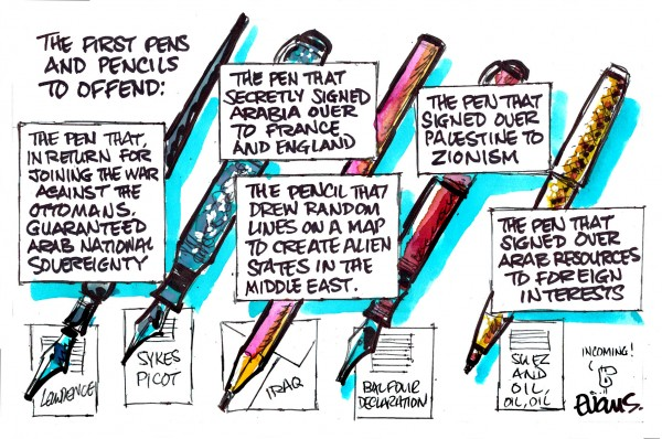 01132015 - The First Pens to Offend