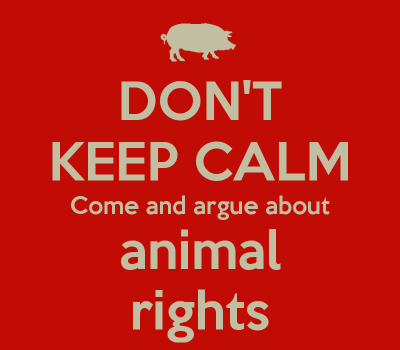 human neglection of animal rights Home arguments against euthanasia   it proclaims the fundamental rights of the human person, including respect for his dignity and his value.