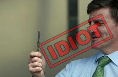 Bill English Idiot