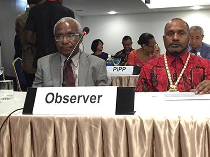 west papua octo mote benny wenda honiara MSG 2015 425wide