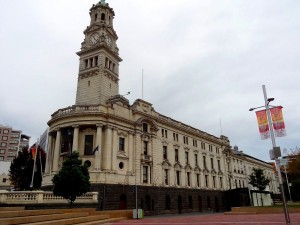 Auckland Town Hall.