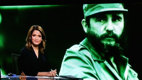 Fidel Castro … an internationalist since the beginning of the Cuban revolution. Image: David Robie/Al Jazeera