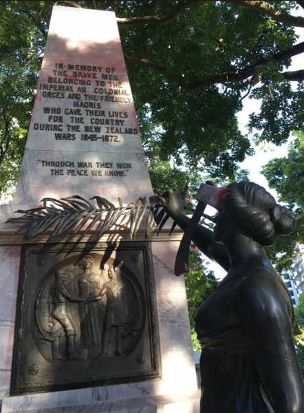 BREAKING: 'Symonds Street War Memorial Target of Attack by Anti-Colonial Activists'
