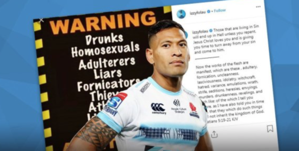 e14e1909 I would argue that Folau's Instagram post was stupid speech (as opposed to  hate speech) and it also seems a little hollow for Qantas to attack Folau,  ...