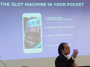 Pocket slot machine