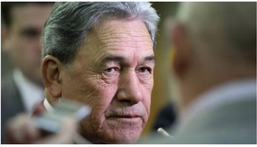 The Second (and Final?) Crucifixion of Winston Peters. | The Daily Blog