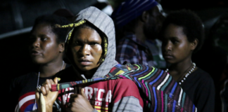 Papuans in conflict zone