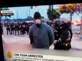 CNN reporter arrested