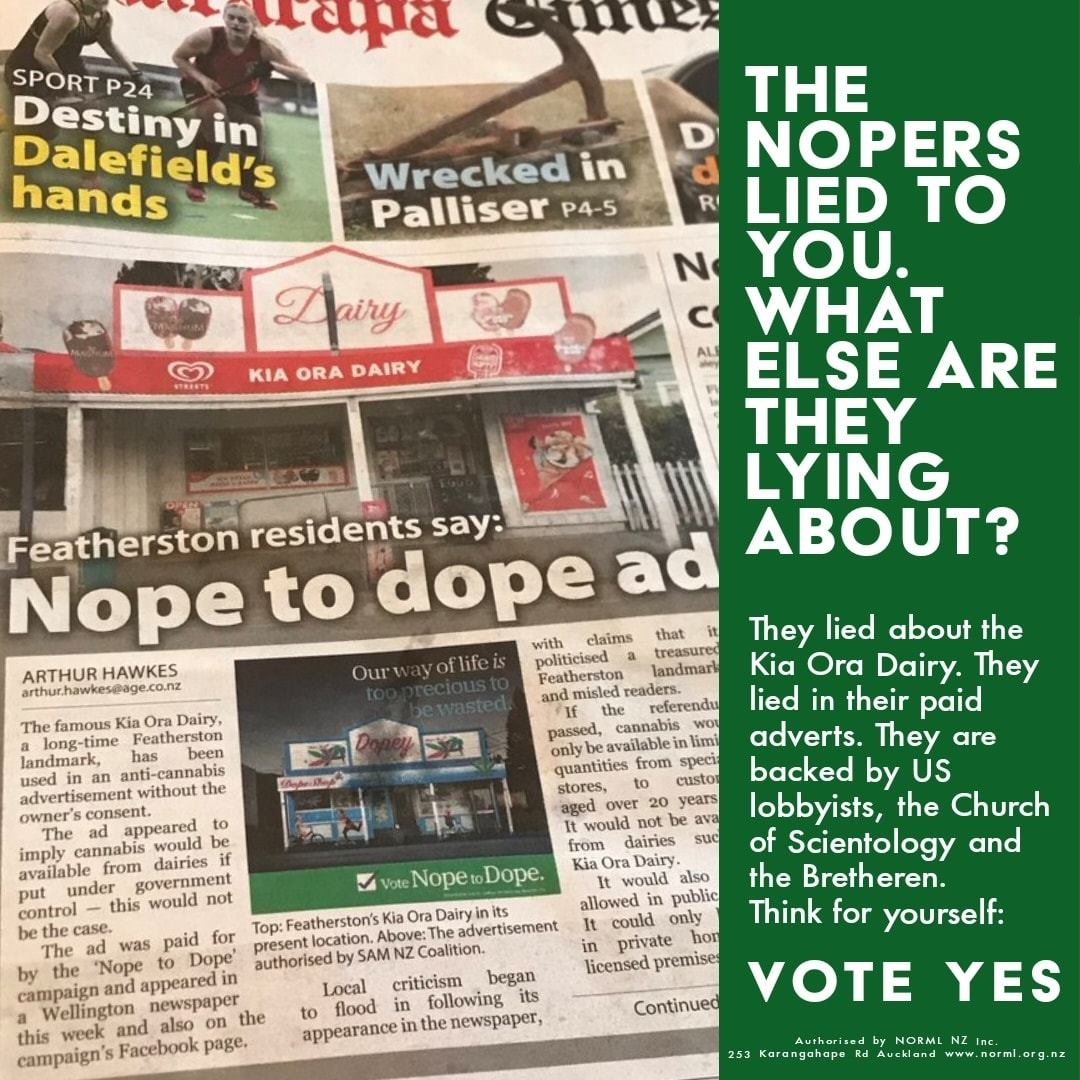 MUST READ: Cannabis referendum: fear and lies outgun the truth | The Daily Blog