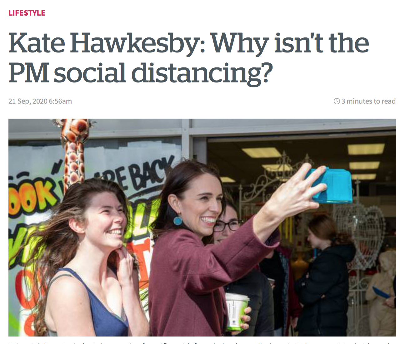 MEDIA WATCH: More good news at the Herald! Kate Hawkesby ...